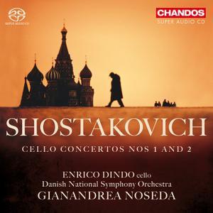 Enrico Dindo, Gianandrea Noseda, Danish National Symphony Orchestra - Shostakovich: Cello Concertos Nos. 1 & 2 (2012)