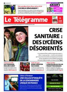 Le Télégramme Brest – 14 décembre 2020