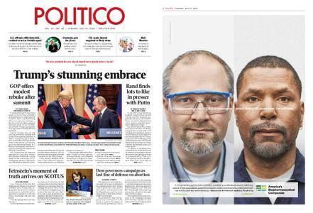 Politico – July 17, 2018
