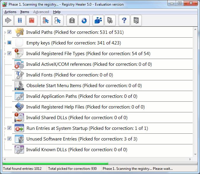 Registry Healer 5.4.1 build 540 (x86/x64) Multilanguage