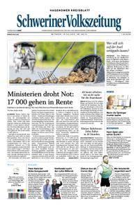 Schweriner Volkszeitung Hagenower Kreisblatt - 18. Juli 2018