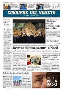 Corriere del Veneto Padova e Rovigo – 08 dicembre 2018