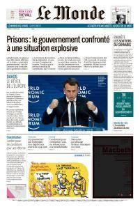 Le Monde du Vendredi 26 Janvier 2018
