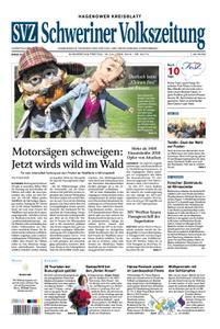Schweriner Volkszeitung Hagenower Kreisblatt - 18. April 2019