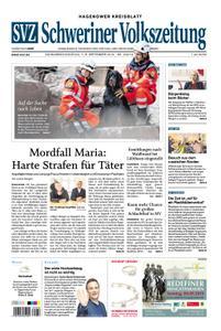 Schweriner Volkszeitung Hagenower Kreisblatt - 07. September 2019