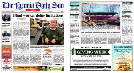 The Laconia Daily Sun – November 26, 2019