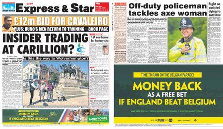 Express and Star City Edition – June 28, 2018