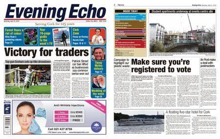 Evening Echo – April 21, 2018