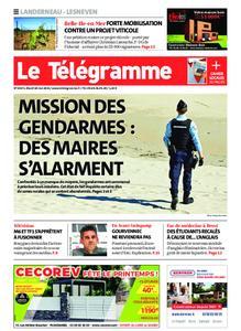 Le Télégramme Landerneau - Lesneven – 18 mai 2021