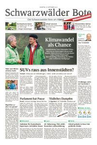 Schwarzwälder Bote Blumberg - 10. September 2019