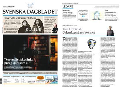 Svenska Dagbladet – 17 februari 2019