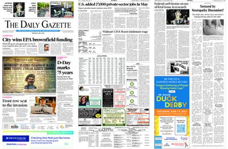 The Daily Gazette – June 06, 2019