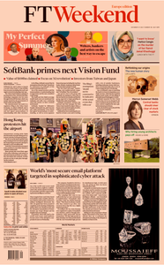 Financial Times Europe – 27 July 2019