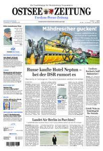 Ostsee Zeitung Wolgast - 14. September 2017