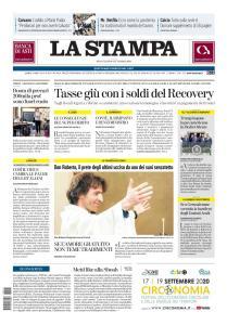 La Stampa Torino Provincia e Canavese - 16 Settembre 2020