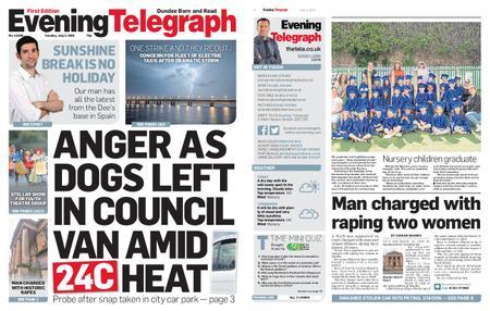 Evening Telegraph First Edition – July 02, 2019