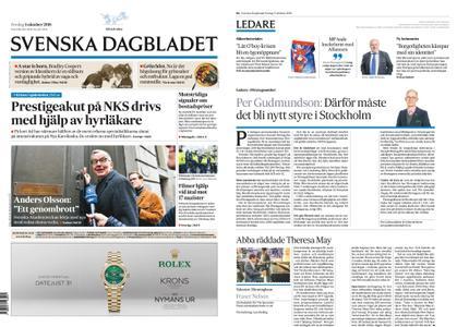Svenska Dagbladet – 05 oktober 2018
