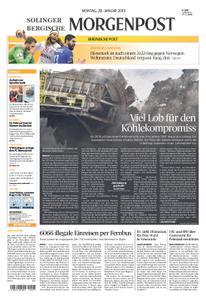 Solinger Morgenpost – 28. Januar 2019