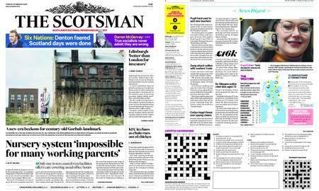 The Scotsman – February 20, 2018