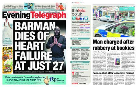 Evening Telegraph First Edition – July 24, 2018