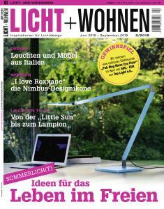 Licht und Wohnen - Juni-September 2019
