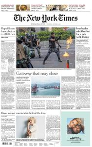 International New York Times - 2 October 2019