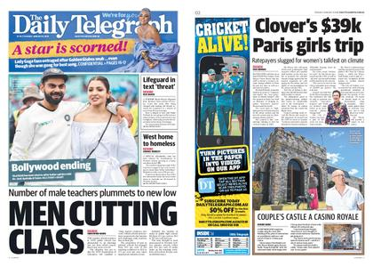 The Daily Telegraph (Sydney) – January 08, 2019