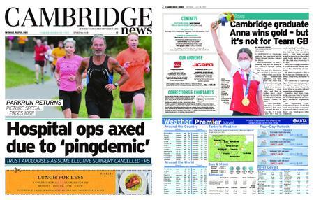 Cambridge News – July 26, 2021