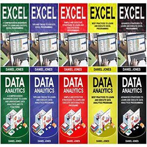 Programming for Beginners: 10 Books in 1-5 Books of Excel Programming+ 5 Books of Data Analytics [Audiobook]