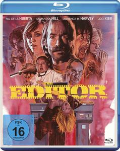The Editor (2014) + Extras