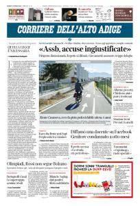 Corriere dell'Alto Adige - 15 Marzo 2018