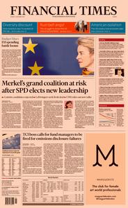 Financial Times Europe – 02 December 2019