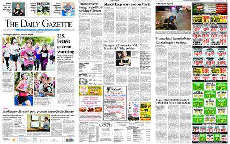 The Daily Gazette – September 18, 2017