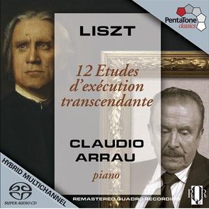 Claudio Arrau - Liszt: 12 Etudes d'exécution transcendante (2008) PS3 ISO