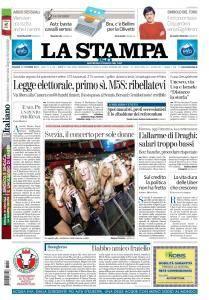 La Stampa Torino Provincia e Canavese - 13 Ottobre 2017