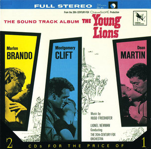 Hugo Friedhofer - 'The Young Lions' (1958) + 'This Earth Is Mine!' (1959) Original Soundtracks, 2CD, Remastered 1993 [Re-Up]