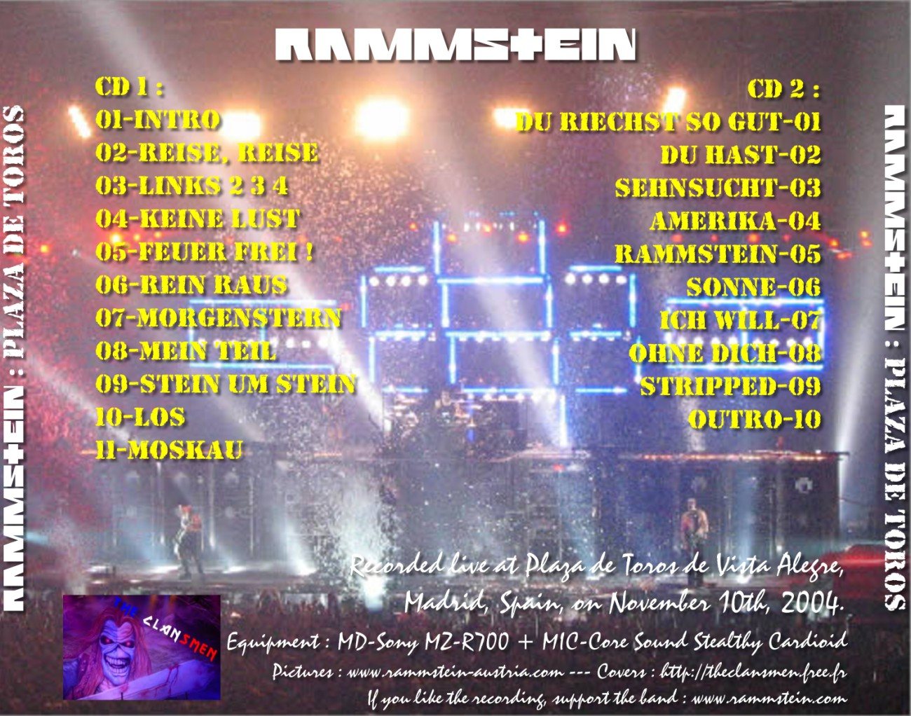 Rammstein - Live In madrid 2004