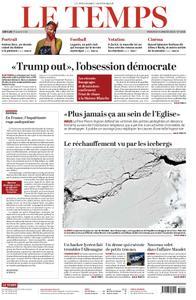 Le Temps - 09 janvier 2019