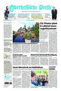 Oberhessische Presse Marburg/Ostkreis - 19. September 2017