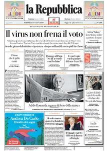 la Repubblica - 21 Settembre 2020