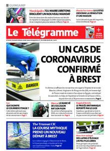 Le Télégramme Guingamp – 28 février 2020