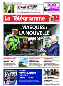 Le Télégramme Ouest Cornouaille – 20 juillet 2020