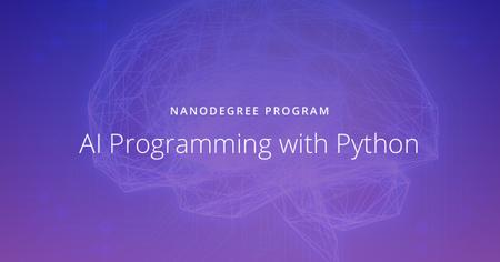 AI Programming with Python Nanodegree nd089 v1.0.0 (2018)