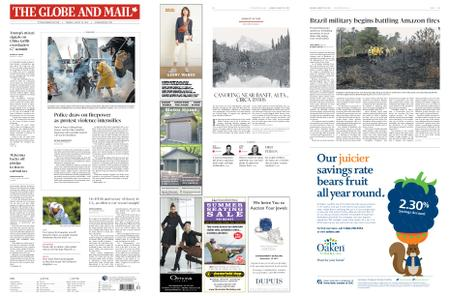 The Globe and Mail – August 26, 2019