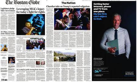 The Boston Globe – January 16, 2018
