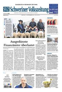 Schweriner Volkszeitung Gadebusch-Rehnaer Zeitung - 16. September 2019