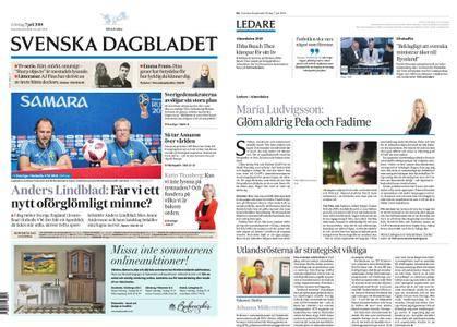 Svenska Dagbladet – 07 juli 2018