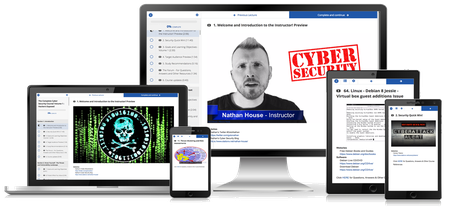 The Complete Cyber Security Course : Hackers Exposed! [Reduced]