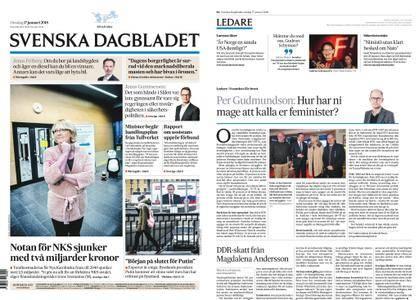 Svenska Dagbladet – 17 januari 2018