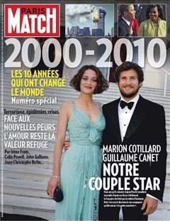 Paris Match n°3162  du 25 Decembre 2009